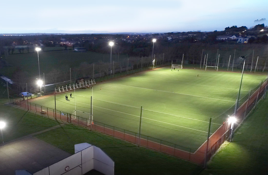 GAA Pitch Lighting Upgrade